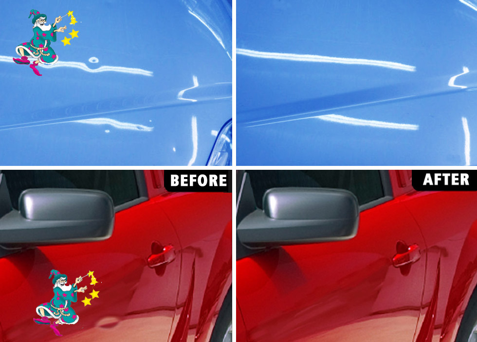Paintless dent removal specialists throughout New Zealand